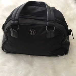Lululemon Athletica Duffle Gym Weekend Bag